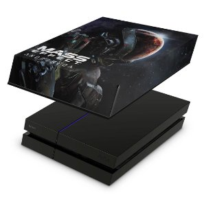 PS4 Fat Capa Anti Poeira - Mass Effect: Andromeda