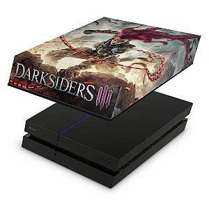 PS4 Fat Capa Anti Poeira - Darksiders 3