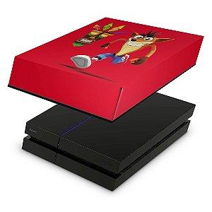 PS4 Fat Capa Anti Poeira - Crash Bandicoot