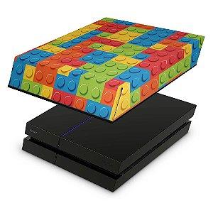 PS4 Fat Capa Anti Poeira - Lego Peça
