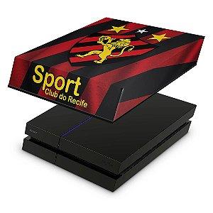 PS4 Fat Capa Anti Poeira - Sport Club Do Recife
