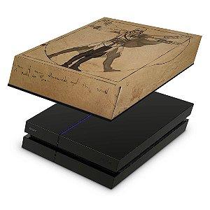 PS4 Fat Capa Anti Poeira - Assassin'S Creed Vitruviano
