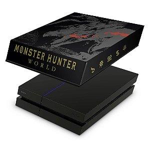 PS4 Fat Capa Anti Poeira - Monster Hunter Edition
