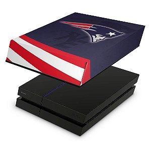 PS4 Fat Capa Anti Poeira - New England Patriots Nfl