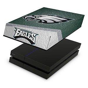 PS4 Fat Capa Anti Poeira - Philadelphia Eagles Nfl