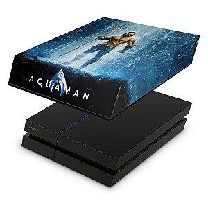 PS4 Fat Capa Anti Poeira - Aquaman