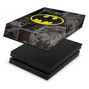 PS4 Fat Capa Anti Poeira - Batman Comics