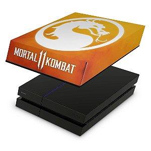 PS4 Fat Capa Anti Poeira - Mortal Kombat 11