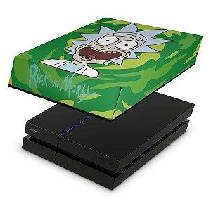 PS4 Fat Capa Anti Poeira - Rick Rick And Morty