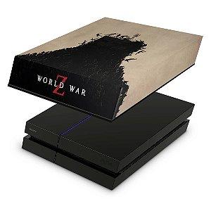 PS4 Fat Capa Anti Poeira - World War Z