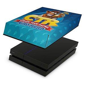 PS4 Fat Capa Anti Poeira - Crash Team Racing Ctr