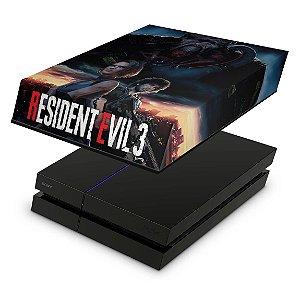 PS4 Fat Capa Anti Poeira - Resident Evil 3 Remake