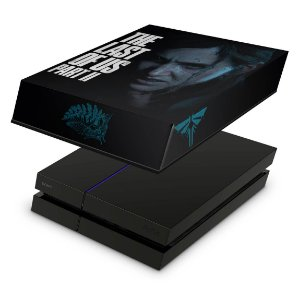 PS4 Fat Capa Anti Poeira - The Last Of Us Part 2 Ii B