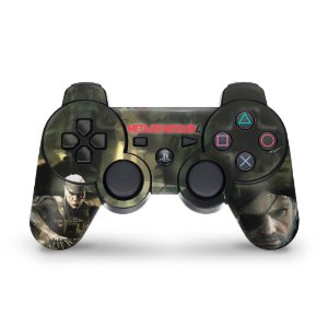 PS3 Controle Skin - Metal Gear Solid #b