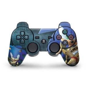 PS3 Controle Skin - Sonic Black Knight