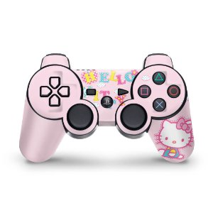 PS3 Controle Skin - Hello Kitty