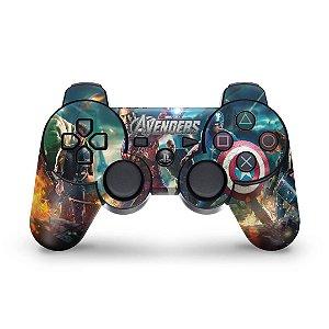 PS3 Controle Skin - Avengers Vingadores