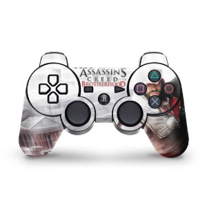 PS3 Controle Skin - Assassins Creed Brotherhood #B