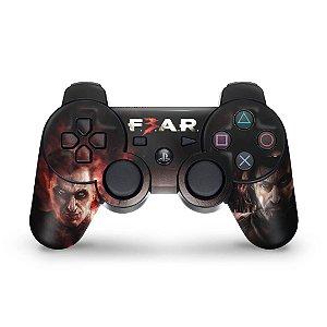 PS3 Controle Skin - F3ar Fear 3