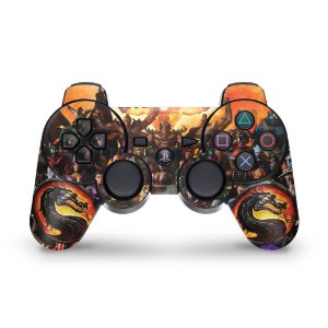 PS3 Controle Skin - Mortal Kombat #b