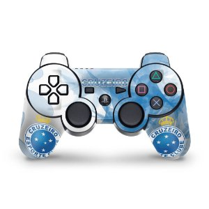 PS3 Controle Skin - Cruzeiro