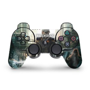 PS3 Controle Skin - Watch Dogs