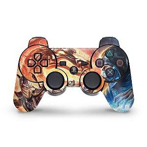 PS3 Controle Skin - Mortal Kombat