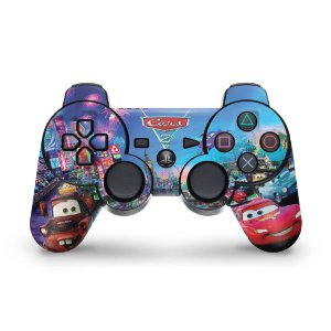 PS3 Controle Skin - Carros 2 Cars