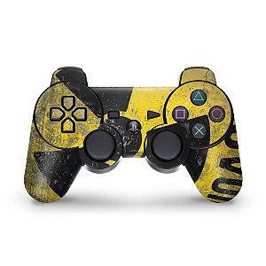 PS3 Controle Skin - Radioativo