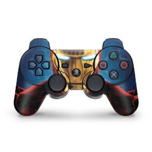 PS3 Controle Skin - Iron Man