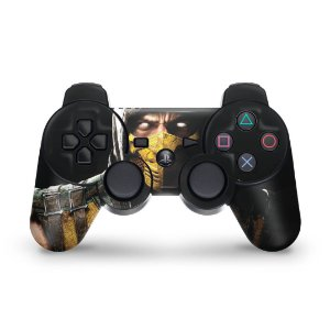 PS3 Controle Skin - Mortal Kombat X Scorpion