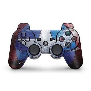 PS3 Controle Skin - Capitão América