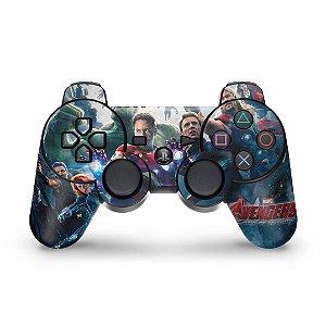 PS3 Controle Skin - Vingadores 2