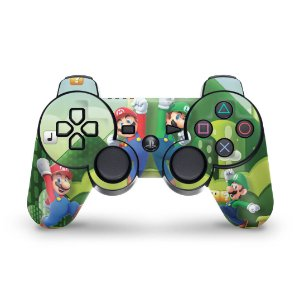 PS3 Controle Skin - Mario & Luigi