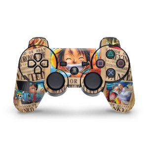 PS3 Controle Skin - One Piece