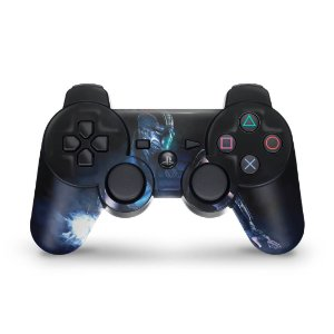 PS3 Controle Skin - Mortal Kombat X Sub-zero