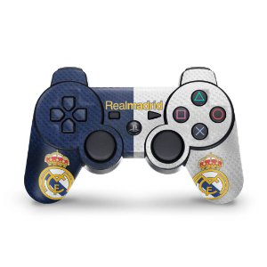 PS3 Controle Skin - Real Madrid Fc