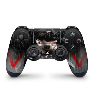 Skin PS4 Controle - Metal Gear Solid V