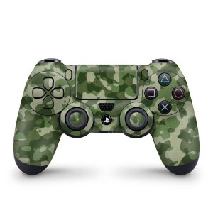 Skin PS4 Controle - Camuflagem Exercito