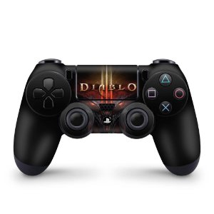 Skin PS4 Controle - Diablo