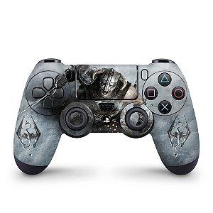 Skin PS4 Controle - Skyrim