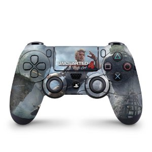 Skin PS4 Controle - Uncharted 4