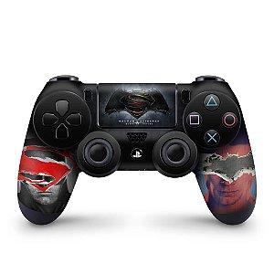 Skin PS4 Controle - Batman Vs Superman
