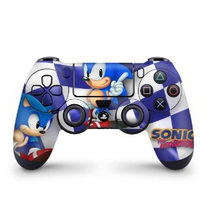 Skin PS4 Controle - Sonic The Hedgehog