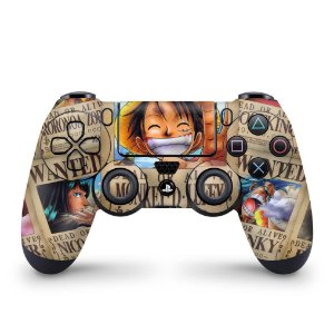 Skin PS4 Controle - One Piece