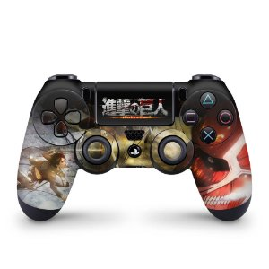 Skin PS4 Controle - Attack On Titan - shingeki no kyojin #A
