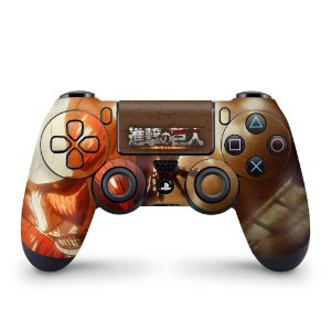 Skin PS4 Controle - Attack On Titan - shingeki no kyojin #B