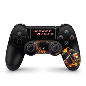 Skin PS4 Controle - Ghost Rider #A