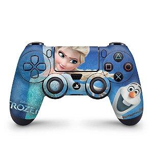 Skin PS4 Controle - Frozen