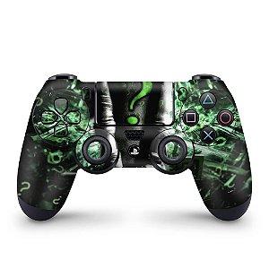 Skin PS4 Controle - Charada Batman